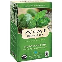 ヌミ(NuMi) 有機 モロカンミント 18袋入りX 3 箱 [並行輸入品]