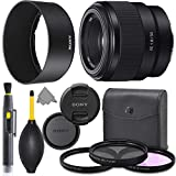 Sony FE 50mm f/1.8 Lens Full Frame Mirrorless Prime Lens with AOM Pro Kit Combo...