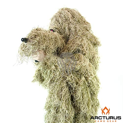 Arcturus Ghost Ghillie Suit (Dry Grass, Extra Large)
