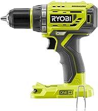 Ryobi 18V Brushless 1/2 Inch Drill Driver P252 Bare Tool (Renewed)
