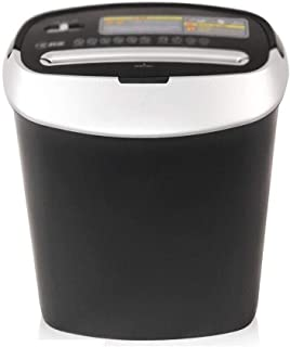 GYP Shredders Office Electronics Products Particle Family Personal File Segmentation Plastic (Color : Black, Size : 35.12539.4cm)
