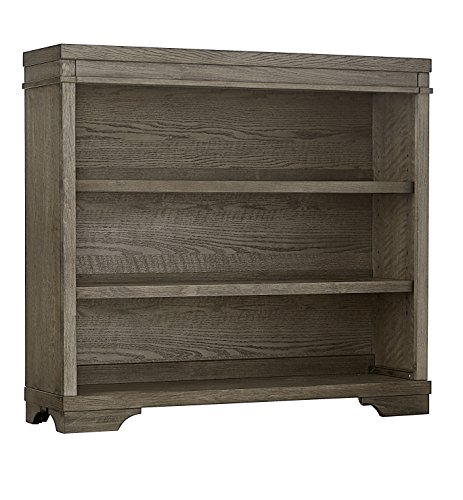 Best Buy! Westwood Design Foundry Hutch or Bookcase, Brushed Pewter