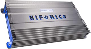 Hifonics BG-2500.1D Brutus Gamma Monoblock Super D Class 2500 Watt Car Audio Sound System Subwoofer Speaker Amp Amplifier