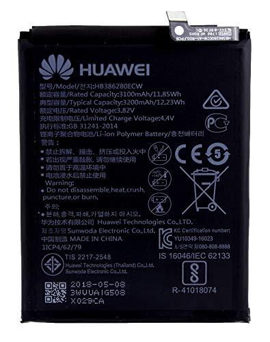 Batteria per Huawei Honor 9   Batteria di ricambio agli ioni di litio da 3200 mAh   Accessori originali Huawei   incl. display
