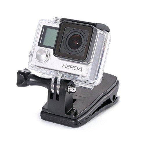 Mochila Compatible con Gopro micros2u Soporte de Correa de Agarre slido. Rotacin giratoria 360...