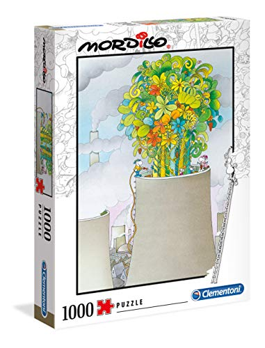 Clementoni- Puzzle 1000 Piezas Mordillo : The Cure (39535.4)