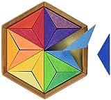 Piezas de construcción Estrella de colores