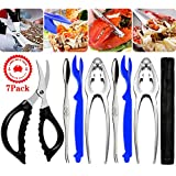 Seafood Tools Crab Crackers Stainless Steel Lobster Crackers and Picks Set Forks Nut