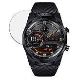 disGuard Schutzfolie für Mobvoi Ticwatch Pro 4G LTE [2 Stück] Entspiegelnde Bildschirmschutzfolie, MATT, Glasfolie, Panzerglas-Folie, Bildschirmschutz, Hoher Festigkeitgrad, Glasschutz, Anti-Reflex