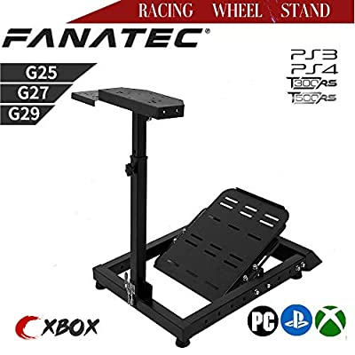 Marada Racing Steering Wheel Stand Suitable for Logitech, Xbox and Thrustmaster Driving Simulator Cockpit Gaming Racing Simulator (Wheel and Pedals Not Included) Wheel Stand Pro