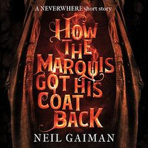 How the Marquis Got His Coat Back cover art
