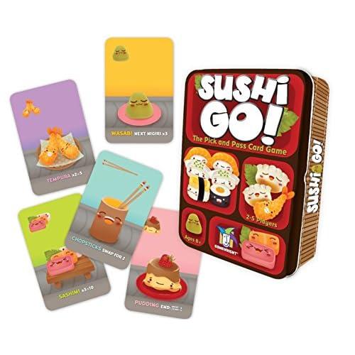 Gamewright - Sushi Go, Gioco di Carte [Lingua Inglese]