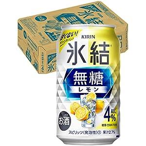 """【甘くないレモンサワー】キリン 氷結無糖 レモン Alc.4% [ チューハイ 350ml×24本 ]"""""""