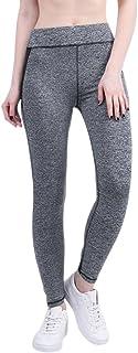 KINDOYO Women Leggings Pants, Ladies Hight Waist Elastic Yoga Pants,Running Trouser Skinny Workout Sweatpants
