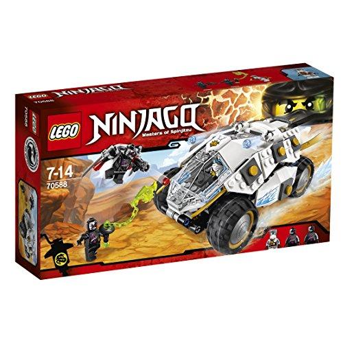 LEGO Ninjago - Tumbler Ninja de Titanio, Juguete de Construc