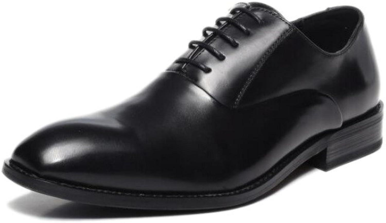 YXLONG Japanese Men's Dress shoes Business shoes Casual shoes British Men's shoes Studio Belt Oxford Leather