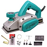 Cheston 600W 16,000 RPM Electric Wood Planer (82 mm, Blue)