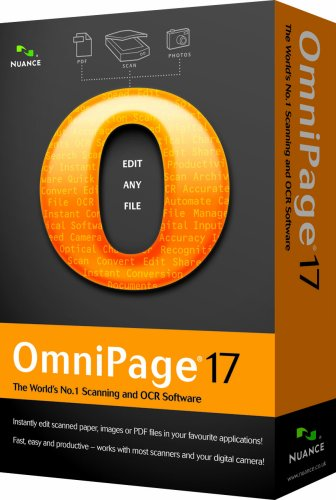 Nuance OmniPage 17.0 (PC CD)