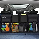 Big Ant Car Boot Organiser, Car Trunk Organisers, Car Boot Tidy, Car Boot Organiser Storage, Boot Tidy for Car Large, Heavy Duty Waterproof Car Backseat Organiser with 8 Pockets & 3 Adjustable Straps