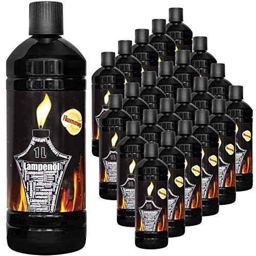 Flameup Lampenoel Lampenöl Petroleum Lampe Garten Oel Fackeln Fackel Laterne Öl Innen Camping 1-24 Liter Flasche Outdoor Oil Öllampe flüssig Gartenfackeln, Menge:24 L