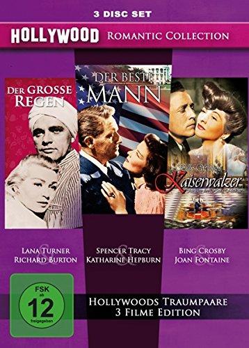 Hollywood Romantic Collection : Der grosse Regen - Der beste Mann - Kaiserwalzer [3 DVDs]