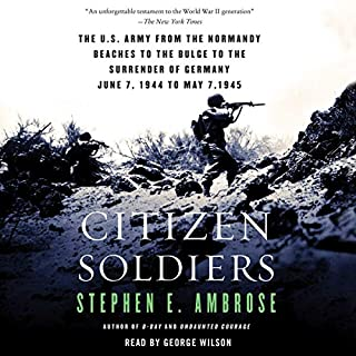 Citizen Soldiers audiobook cover art