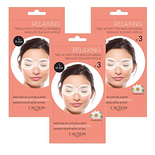 L'Action Paris Tired and puffy eyes reducer masks - TRIO