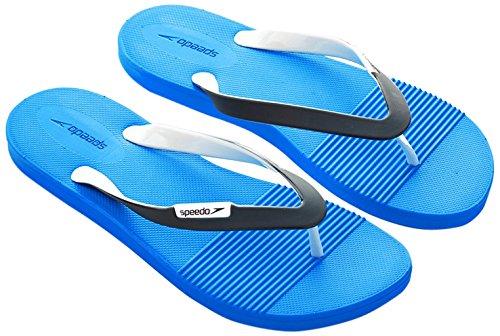 Speedo Saturate Ii Thg Am Flipflops Mehrfarbig Neon Blue/Oxid Grey/White 10 UK (44,5 IT)