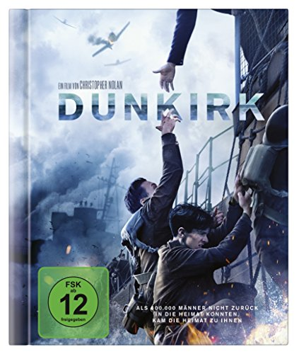 Dunkirk als Digibook (Limited Edition exklusiv bei Amazon.de) [Blu-ray]