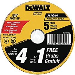 DEWALT DW8062B5 Cutting Wheel