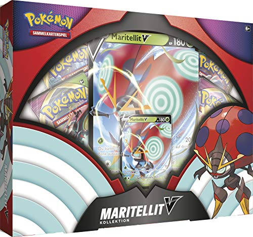 Pokémon International 45222 PKM November V Box DE, bunt