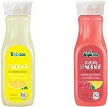 LUV BOX - Variety Tropicana Lemonade Pack 12oz Plastic Bottle, 20ct.,Tropicana Lemonade Classic, Tropicana Raspberry Lemonade,