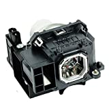 Molgoc NP16LP Projector Replacement Lamp Bulb with Housing