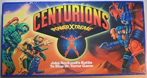 Centurions PowerXtreme - Jake Rockwell's Battle to Stop Dr. Terror Game by 1986 Ruby Spears Enterprises, Inc.