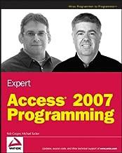 Best expert access 2007 programming Reviews