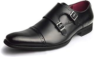 [ネロ コルサロ] 本革 日本製 ビジネスシューズ 革靴 紳士靴 メンズ モンクストラップ スリッポン ローファー