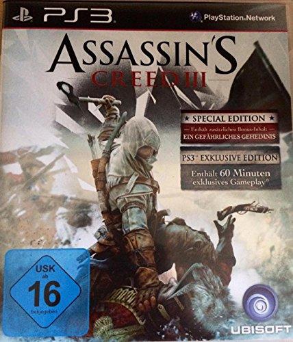 Assassins Creed III Special Edition PS3 [Importación alemana]