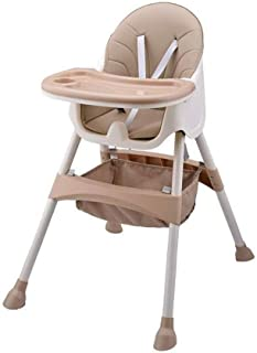 ZOUJUN High Chair Convertible Toddler Table Chair Set, Rocking Chair, Multi-Function Seat With Lockable Universal Simple P...