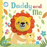 Little Learners Daddy and Me Finger Puppet Book