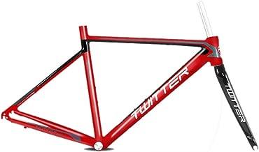 MAIKONG Cuadro de Bicicleta de Carretera de aleación de Aluminio con Horquilla Cuadro de Bicicleta de Carreras 700C BB68 Unibody Cable Interno Enrutamiento Ultraligero Ciclismo Cuadro de Bicicleta