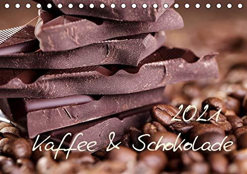 Kaffee & Schokolade (Tischkalender 2021 DIN A5 quer)