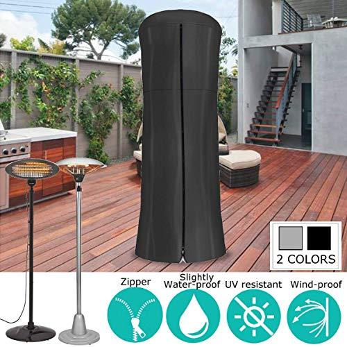 Essort Terrassenheizung, groß rund vertikal Gartenmöbel, Premium-Schutz mit Reißverschluss für elektrische Heizungen, wasserdicht strapazierfähig Pyramiden-Heizungen, dreieckig Gas-Hoher Heizstrahler