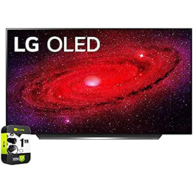 LG CX 4K Smart OLED TV with AI ThinQ 2020 Bundle with 1 Year Extended Protection Plan by LG