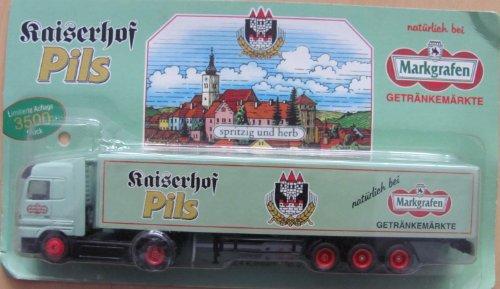 Markgrafen Getränkemarkt Nr.60 - Kaiserhof Pils - MB Actros - Sattelzug