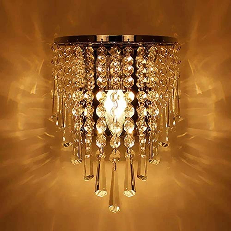 MXYXN Moderne k9 kristall Edelstahl Wandleuchten Wandleuchte nachtlicht lampen leuchten für Flur Stairway Nacht Wohnzimmer