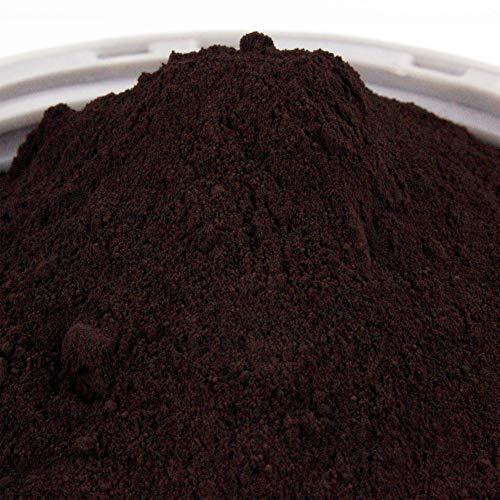 Pigmentpulver, Eisenoxid, Oxidfarbe - 1kg Farbpigmente/Trockenfarbe für Beton, Epoxidharz + Wand - Farbe: dunkelbraun, braun
