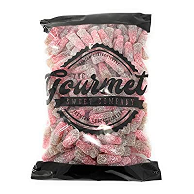 fizzy cherry cola bottles 1kg share bag by the gourmet sweet company Fizzy Cherry Cola Bottles 1kg Share Bag by The Gourmet Sweet Company 51CItHeoUGL