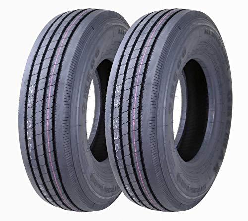 Set of 2 New Greamx All Steel ST235/80R16 14PR RV Trailer Tires Load Range G