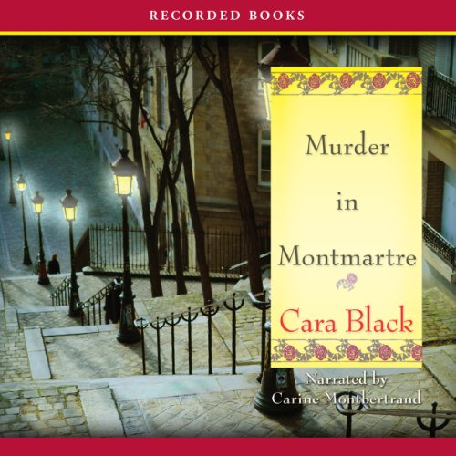 Murder in Montmartre audiobook cover art