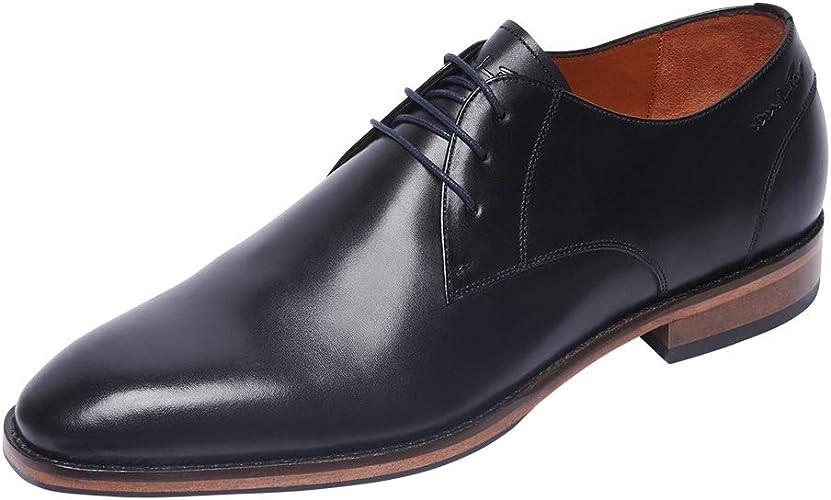 Van Lier Chaussures Dressed Matthieu - Noir - Noir, 45 EU : Amazon ...
